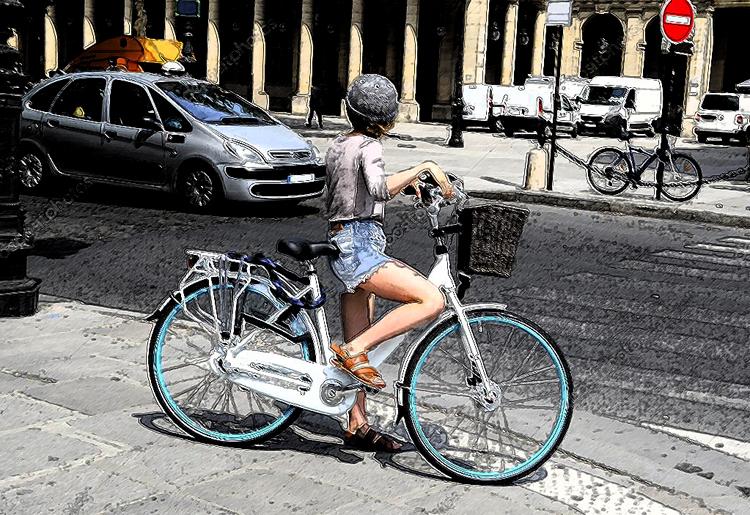 Attraversare la strada con la bicicletta: in sella o a mano